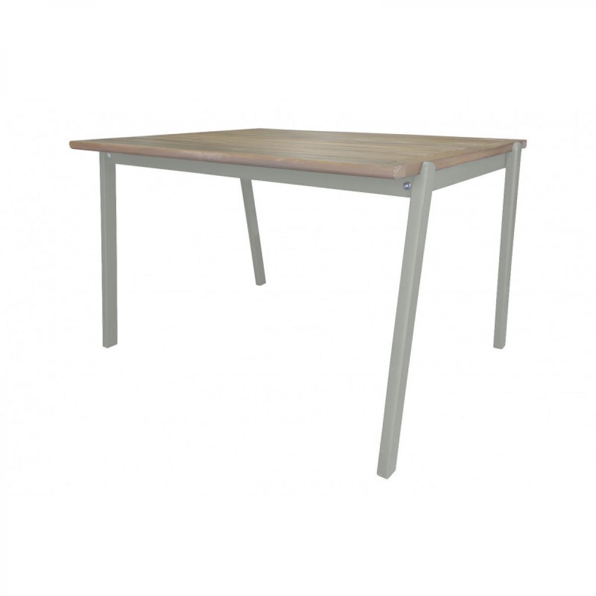 Meubletmoi Table de jardin pour enfant en bois d'acacia vert - CHARLOTTE 3385
