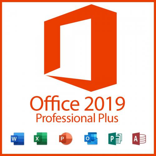 Microsoft -Office 2019 Professional Plus Microsoft  - Systèmes d'exploitation