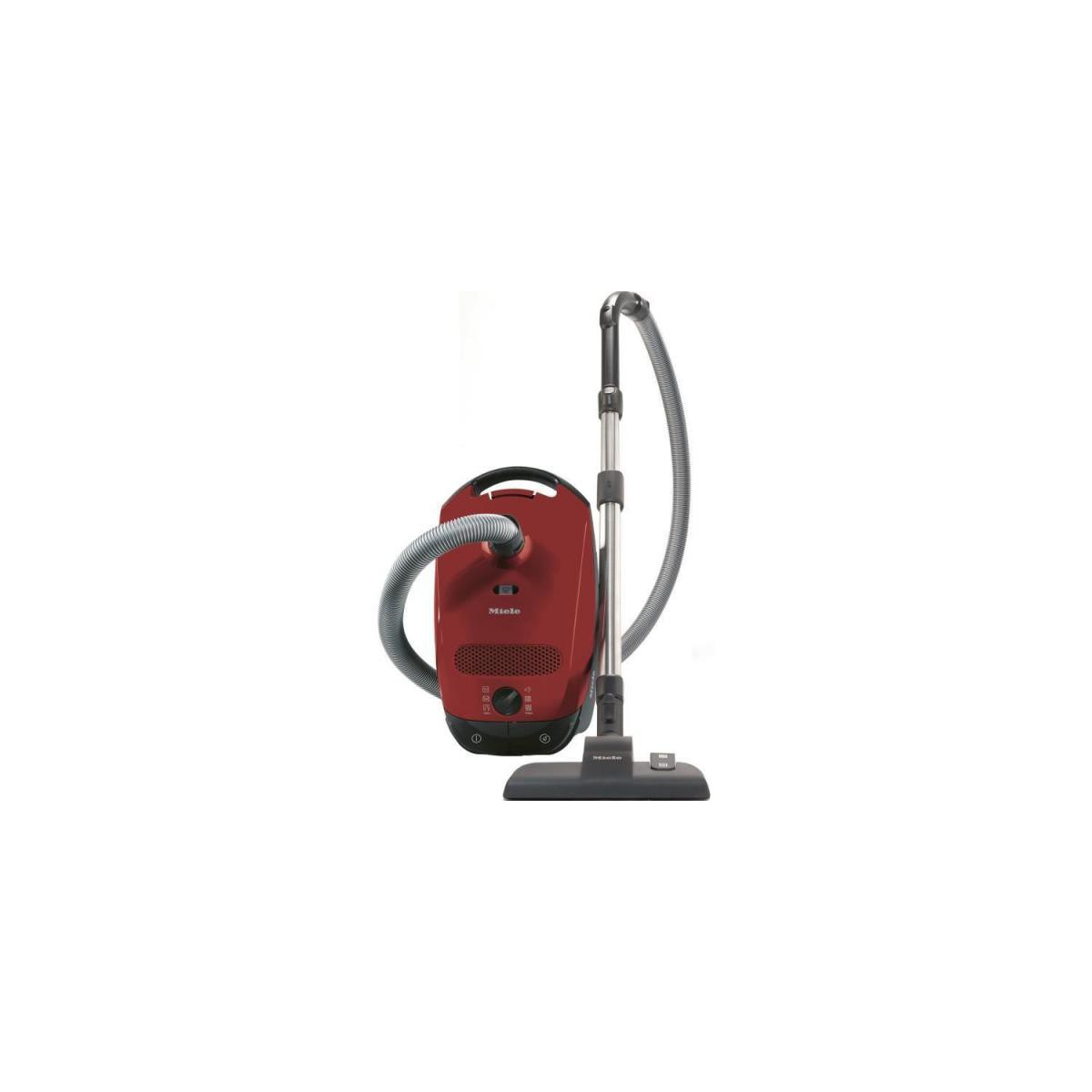 Miele MIELE Classic C1 EcoLine rouge Aspirateur traineau avec sac