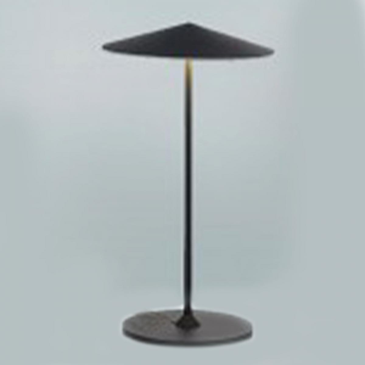 Milan Tableau Lamp20 cm de diamètre laque noire 3 X 5 W