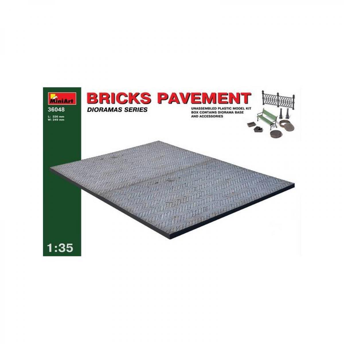 Mini Art Bricks Pavement - Décor Modélisme