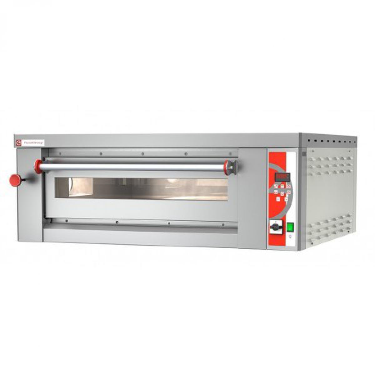 Mishky Four à pizza électrique professionnel - Modulaire 8,90 kW - Pizzagroup -