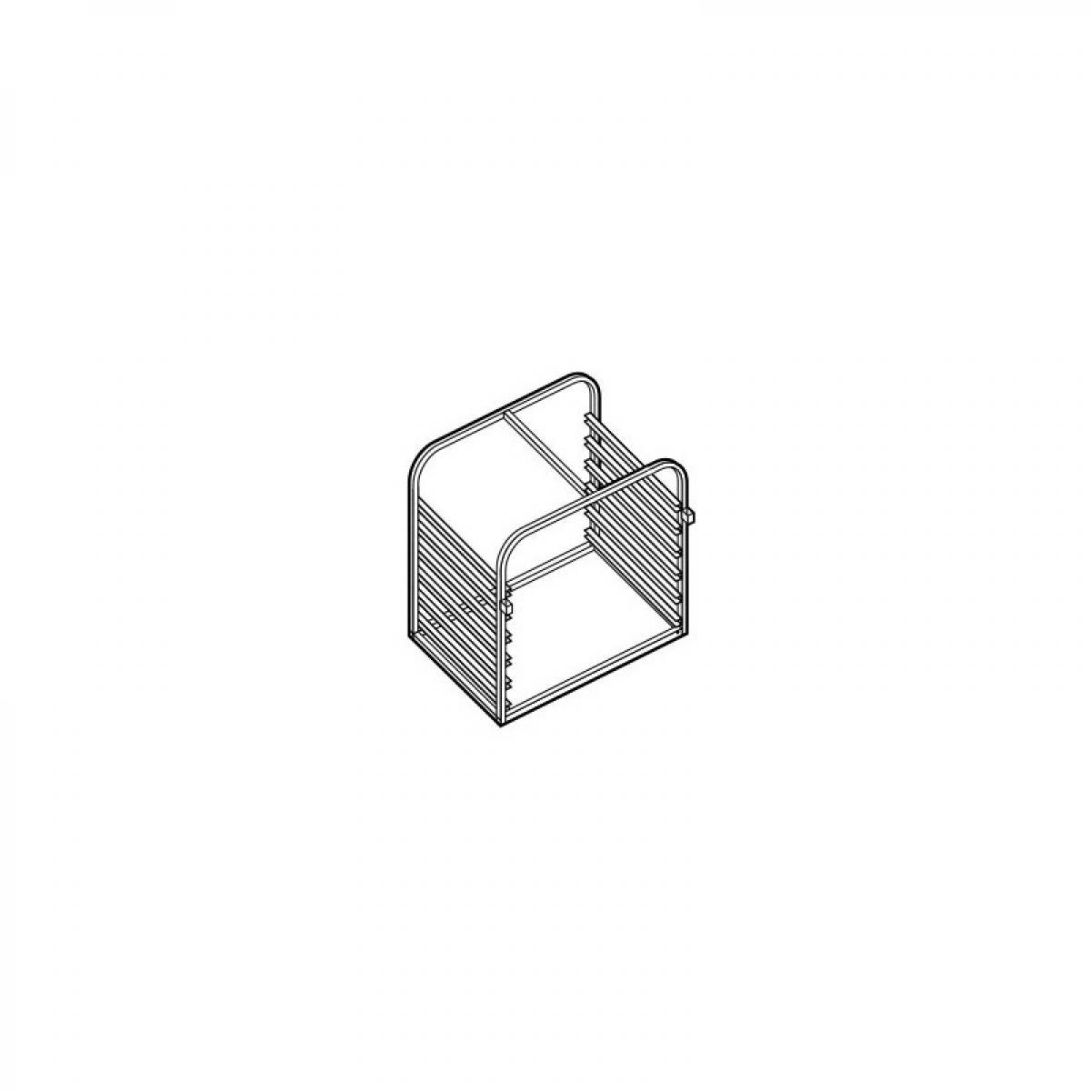 Moduline Structure Porte-Grilles pour Four GN 1/1 - 11 Niveaux - Moduline -