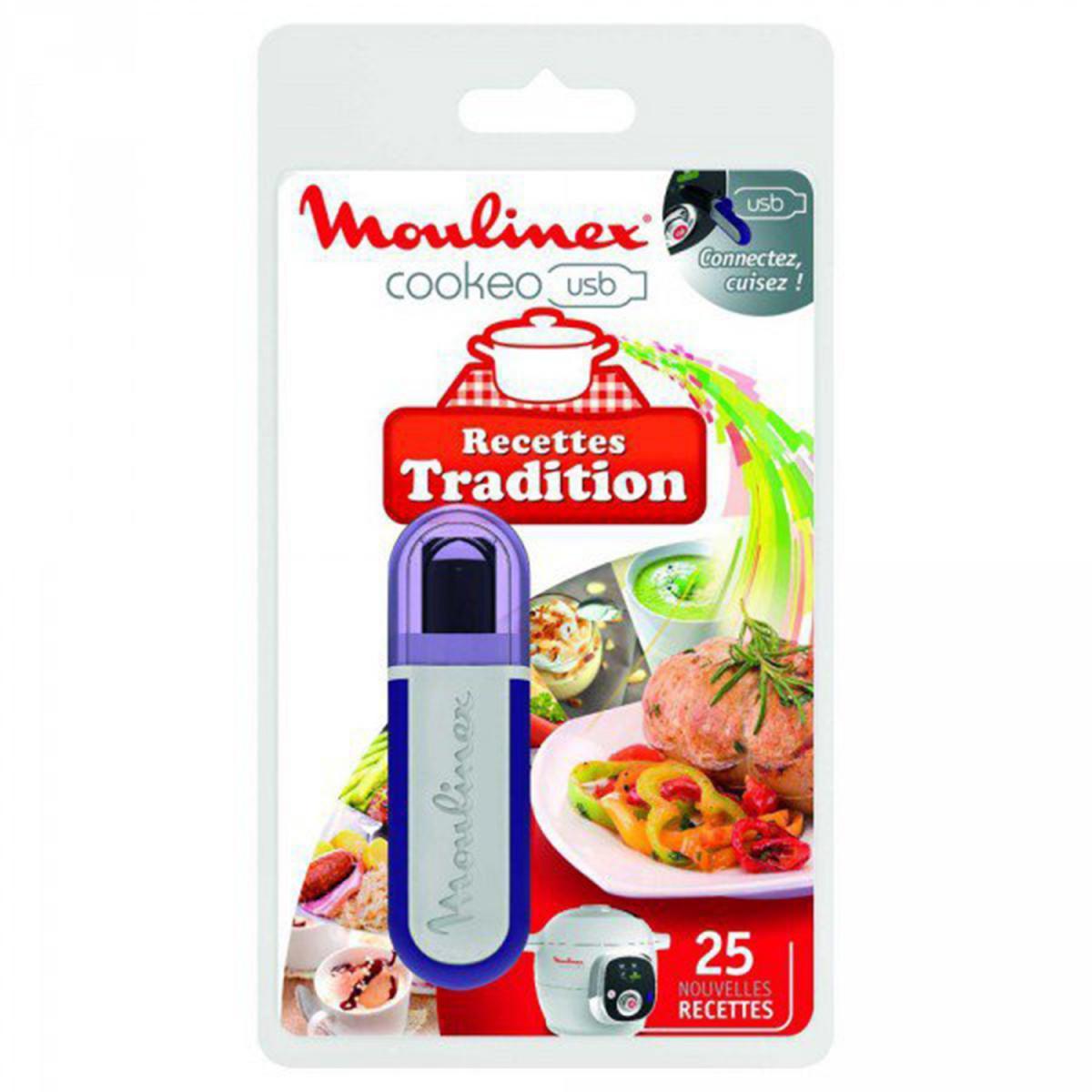 Moulinex MOULINEX XA600211 Clé USB theme traditions pour Cookeo