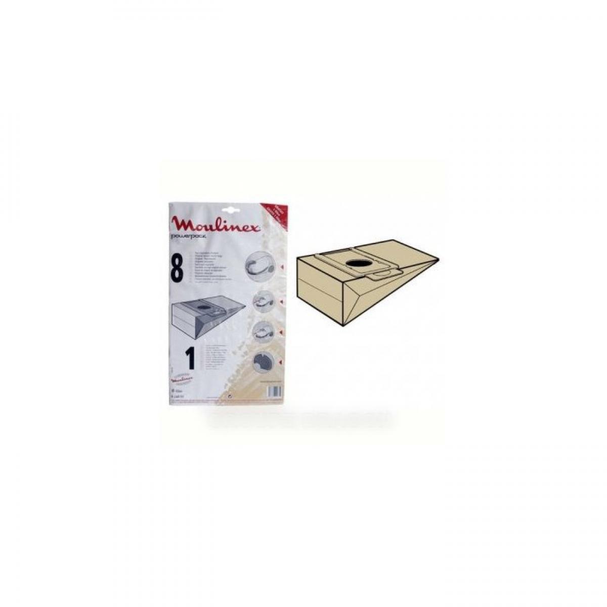 Moulinex Sachet de sacs powerpack (x6) pour aspirateur moulinex