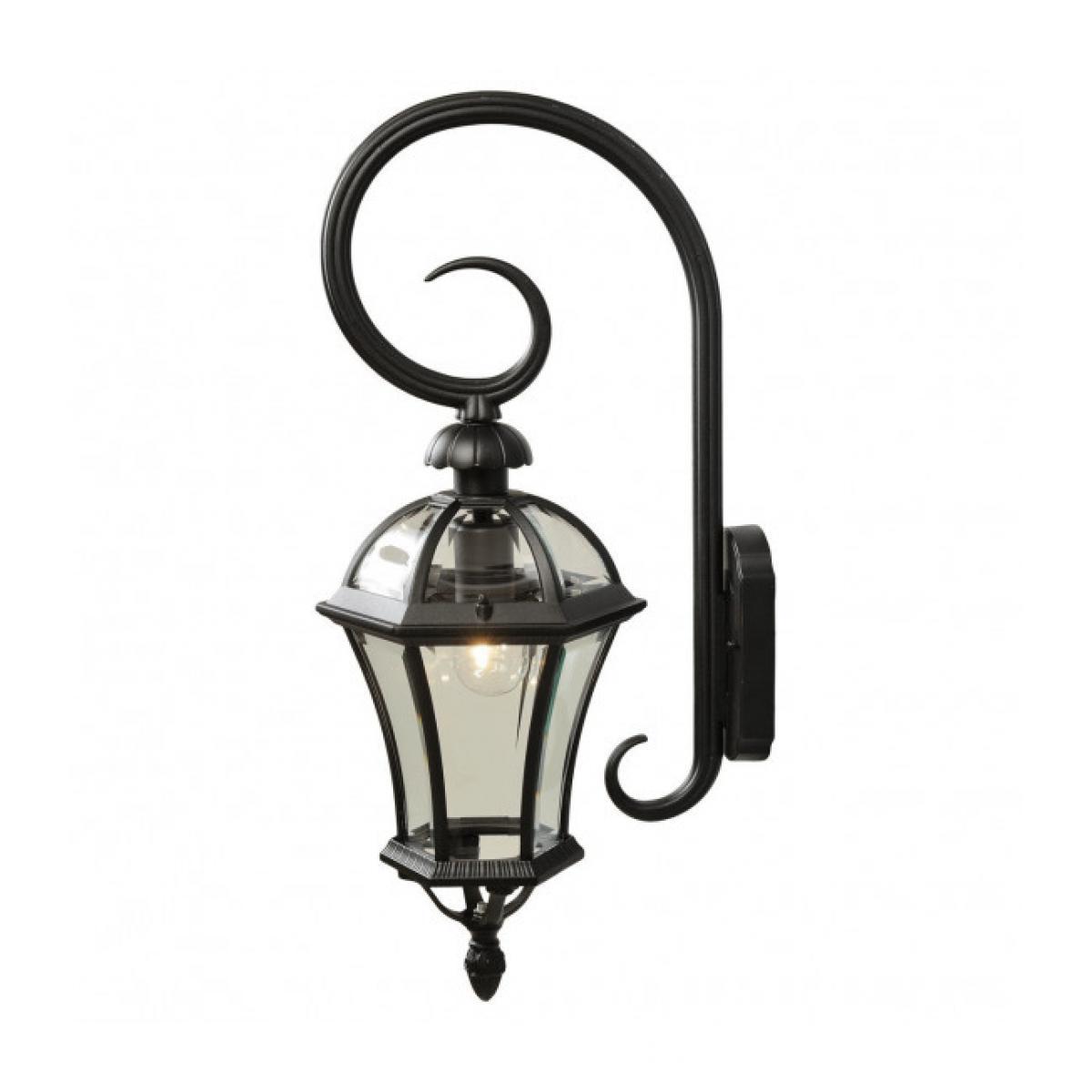 Mw Light Applique d'extérieur noire Street 1 ampoule 70 Cm