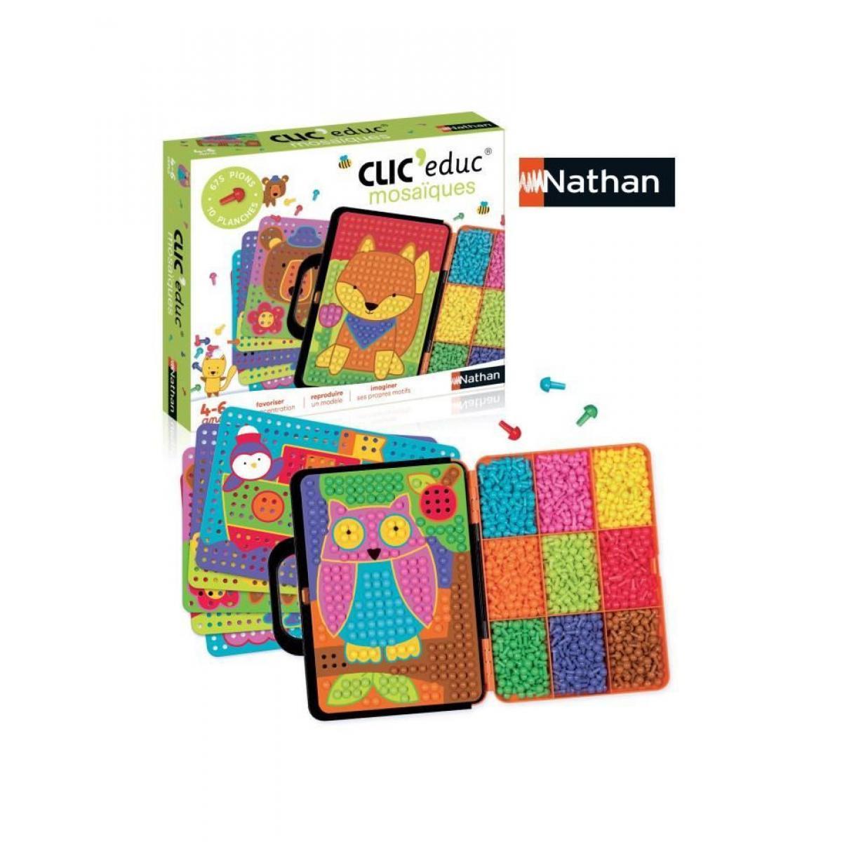 Nathan NATHAN Clic'Educ - Mosaiques