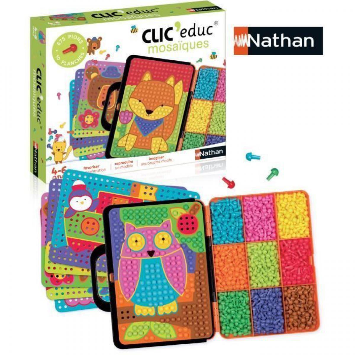 Nathan NATHAN ClicEduc - Mosaiques