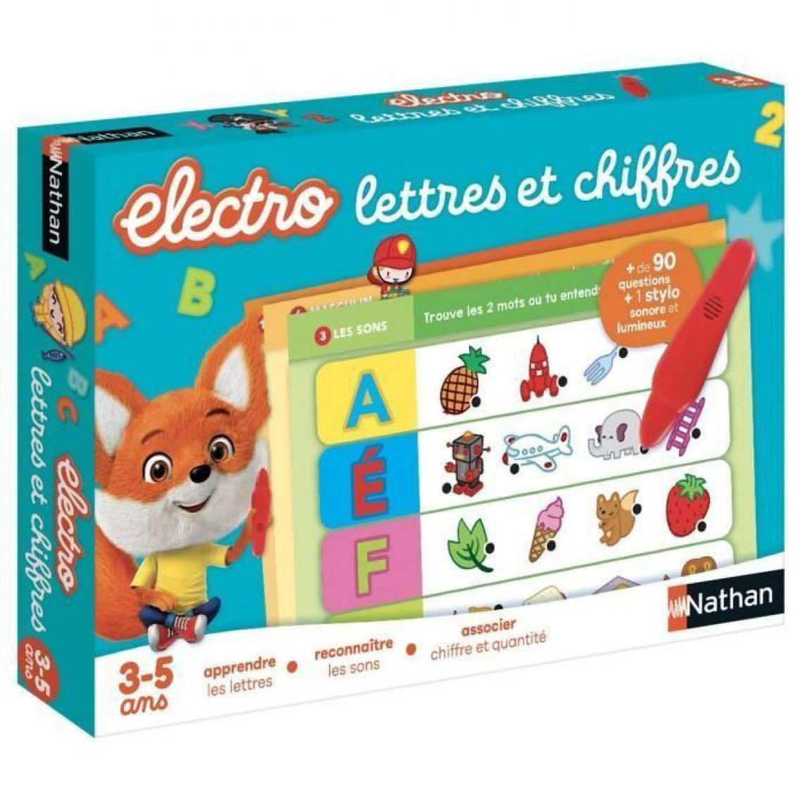 Nathan NATHAN Electro - Lettres et Chiffres