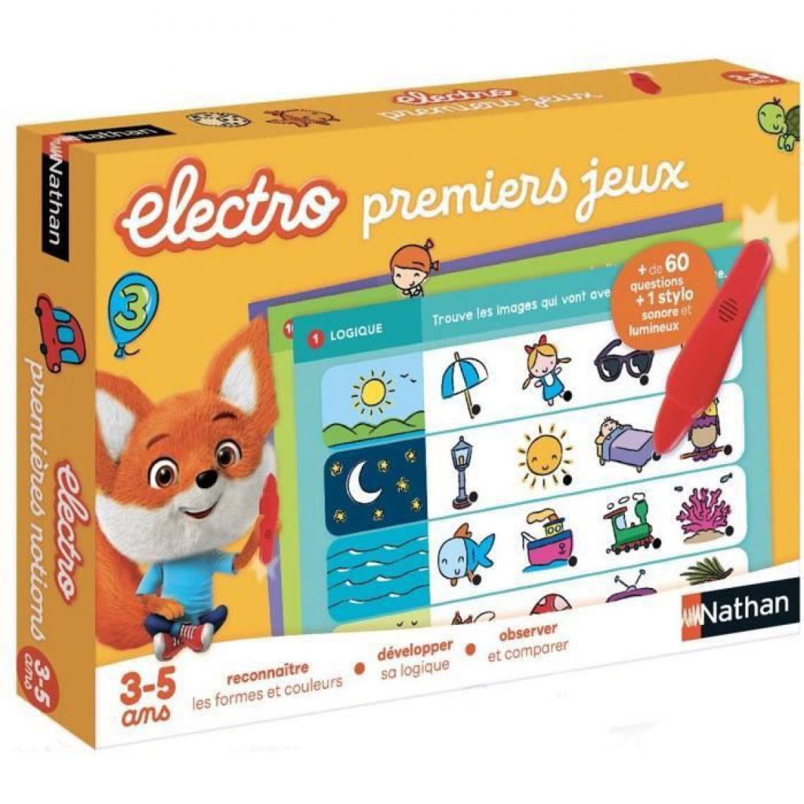 Nathan NATHAN Electro - Premiers Jeux