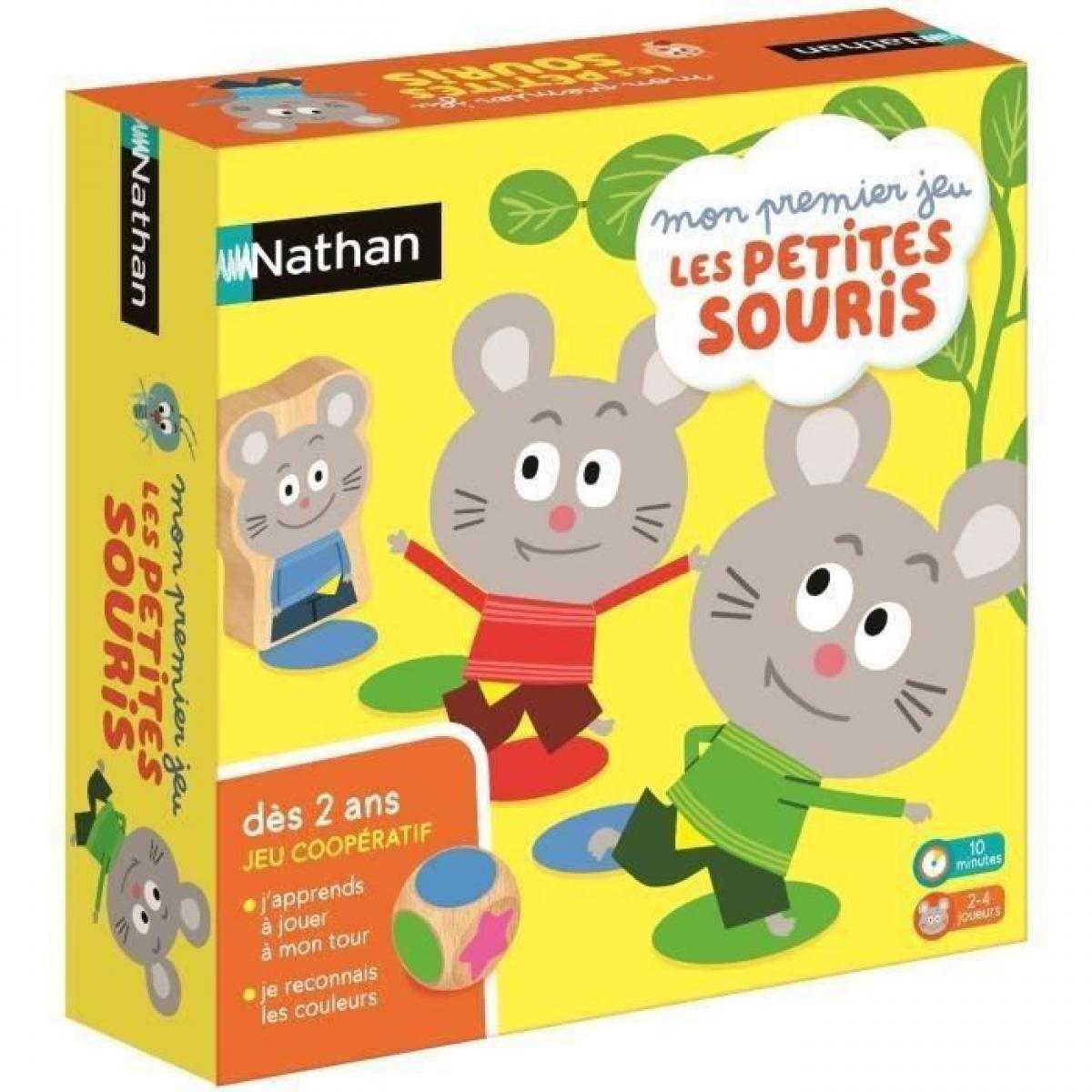 Nathan NATHAN - Mon Premier Jeu les Petites Souris - Jeu de Societe