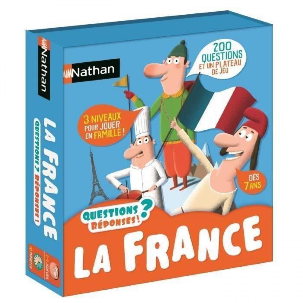 Nathan NATHAN Questions Reponses - La France