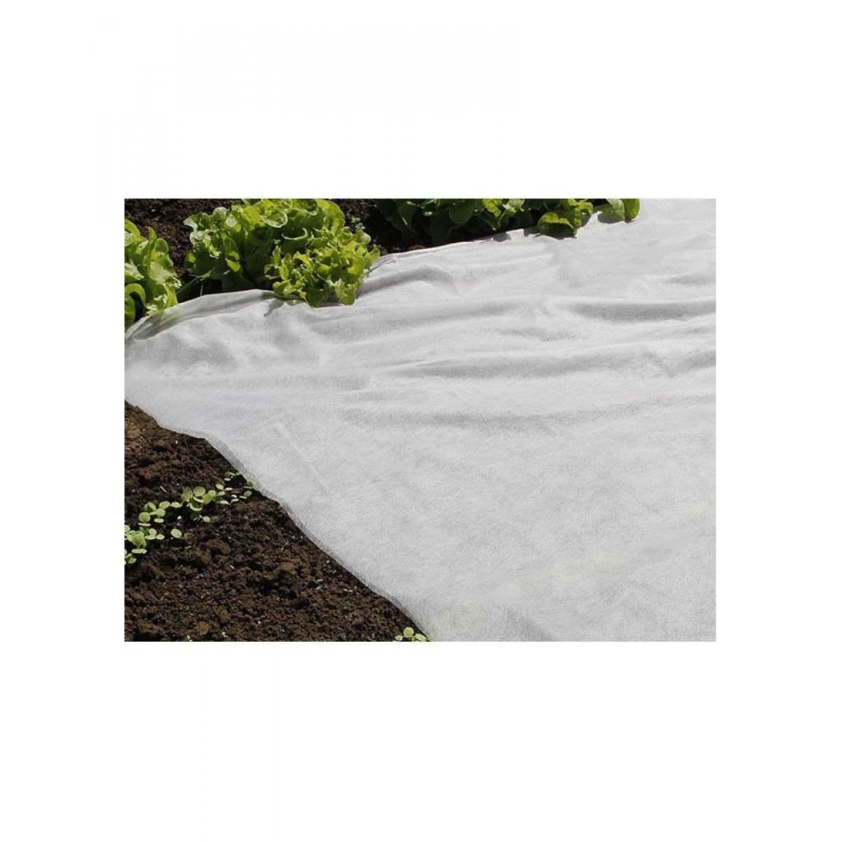 Nature NATURE Voile de forçage 30 g/m² - 2 x 100 m - Blanc