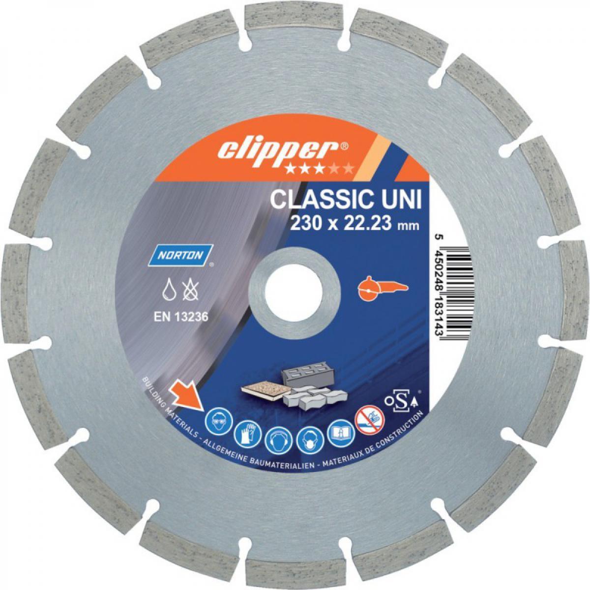Norton Disque diamant CLASSIC UNI, 350x25,4mm