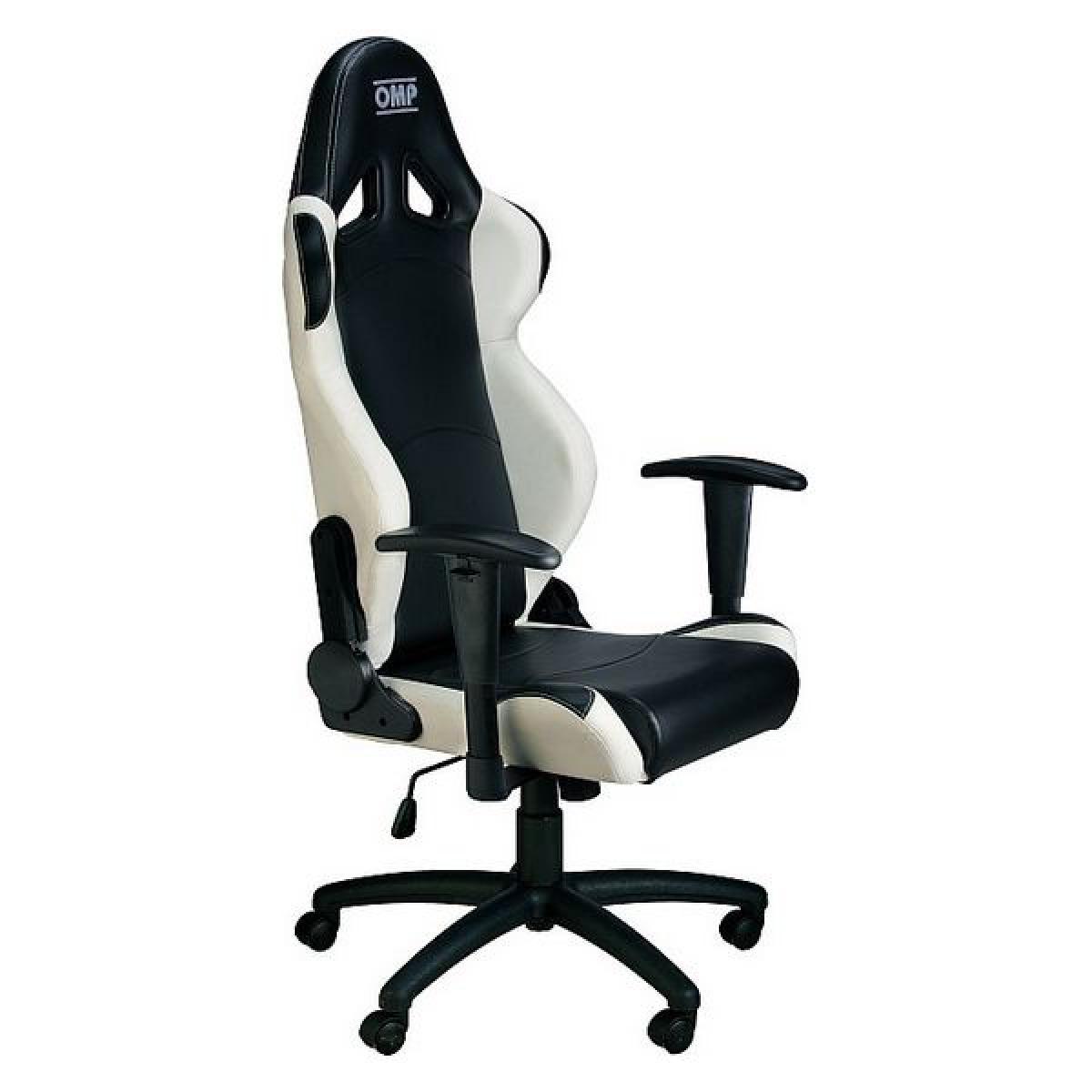 Omp Chaise de jeu OMP MY2016 Noir/Blanc