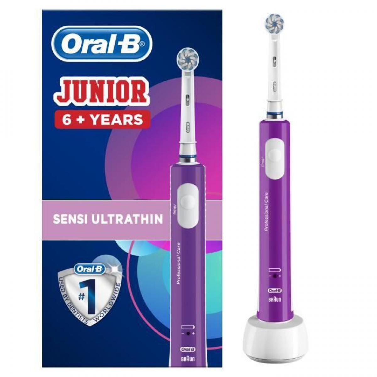 Oral-B braun - junior purple