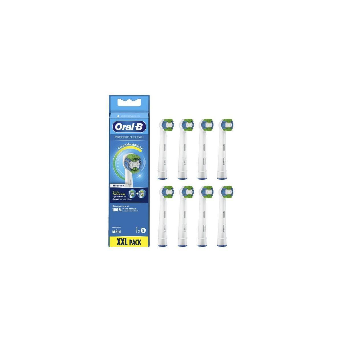 Oral-B Oral-B Precision Clean Brossette Avec CleanMaximiser, 8