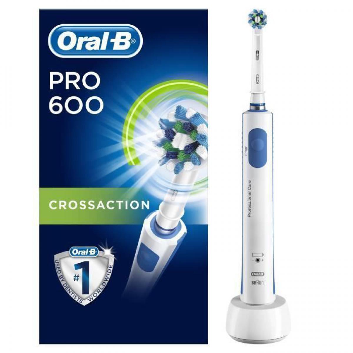 Oral-B Oral-B PRO 600 Cross Action Brosse a dents electrique par BRAUN