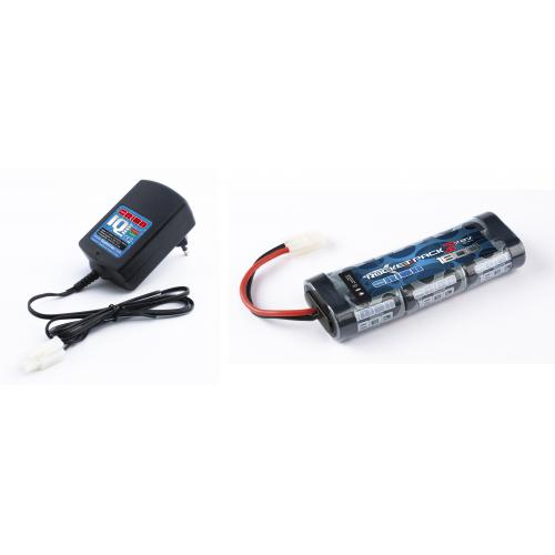 Orion -COMBO EP CHARGEUR IQ801 (EU-220V) / PACK 7.2V ROCKET 1800 NIMH Orion  - Batteries et chargeurs Orion