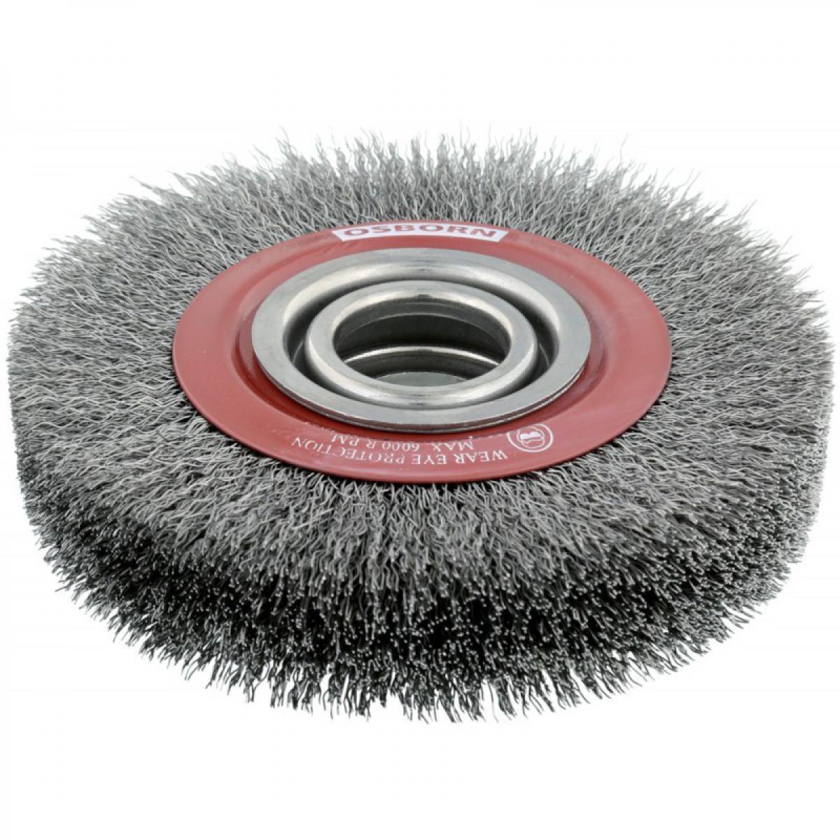 Osborn Brosse ronde fil acier 150x30mm Osborn