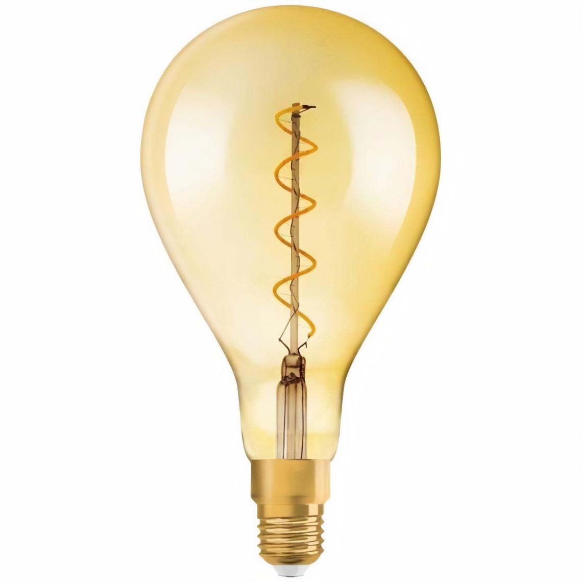 Osram OSRAM Edition 1906 Ampoule LED Standard 160mm clair fil variable Or - 5 W 28 W - E27 - Blanc chaud
