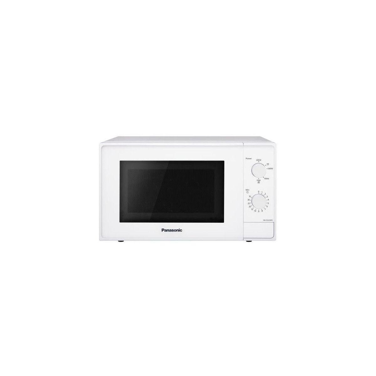 Panasonic Micro-ondes Pose Libre 20l Panasonic 800w 44cm, Nne20jw