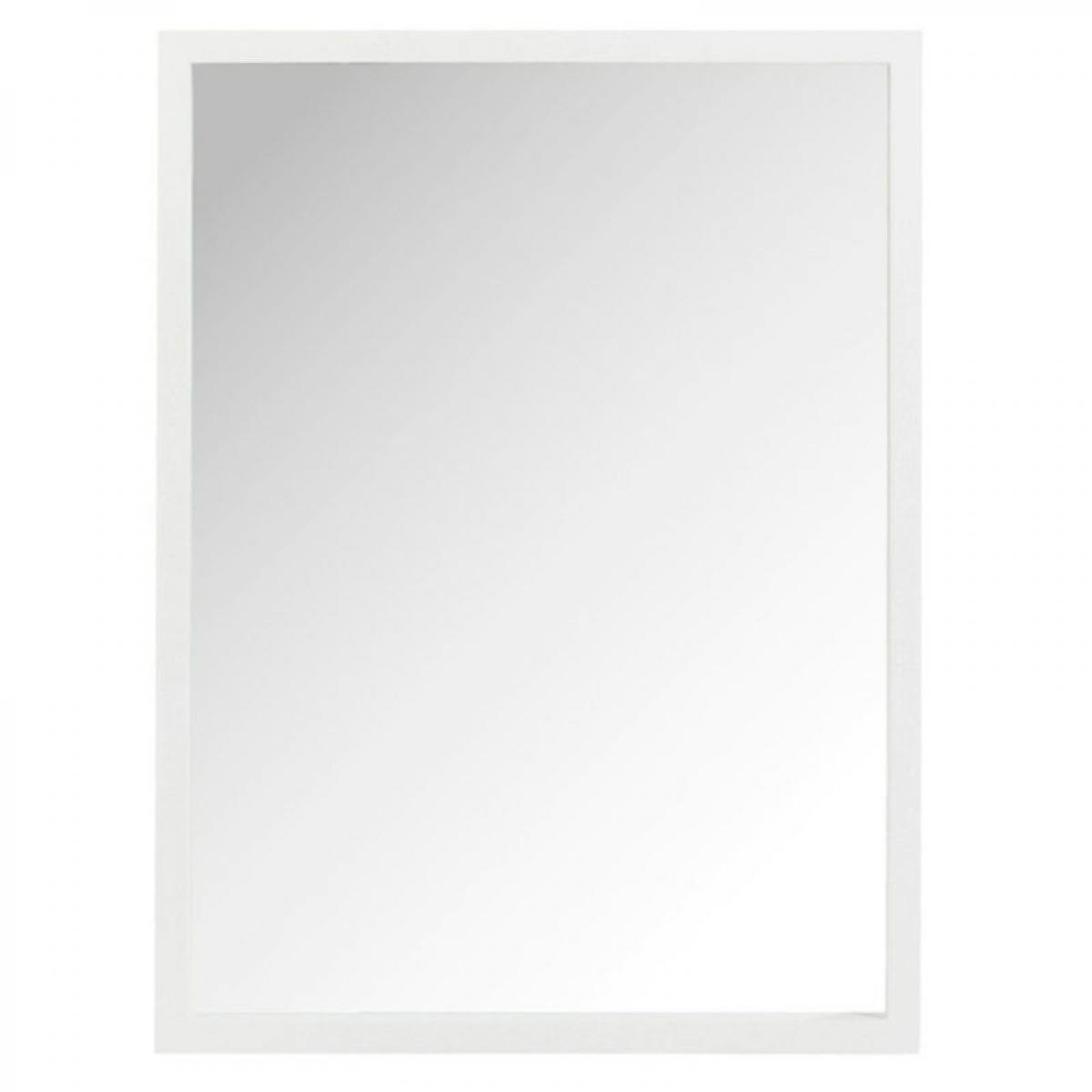 Paris Prix Miroir Mural Design Savin 80cm Blanc