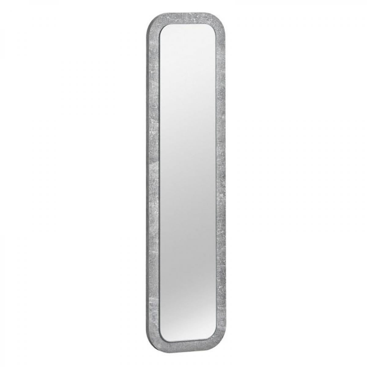 Paris Prix Miroir Rectangulaire Design Wally 80cm Argent