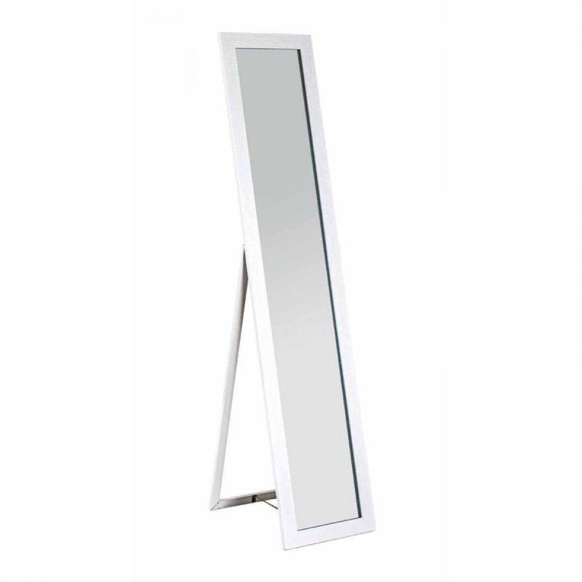 Paris Prix Miroir Sur Pied Design Kenza 156cm Blanc