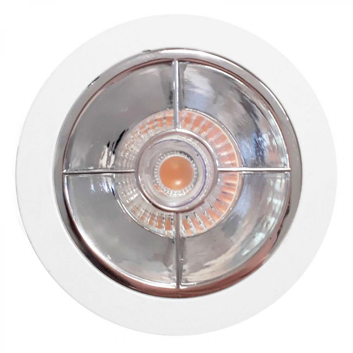 Paris Prix Spot Encastrable Premium X 9cm Blanc & Argent