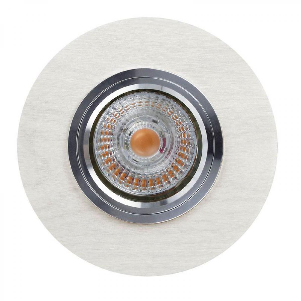 Paris Prix Spot Encastrable Rond LED Bois 13cm Blanc