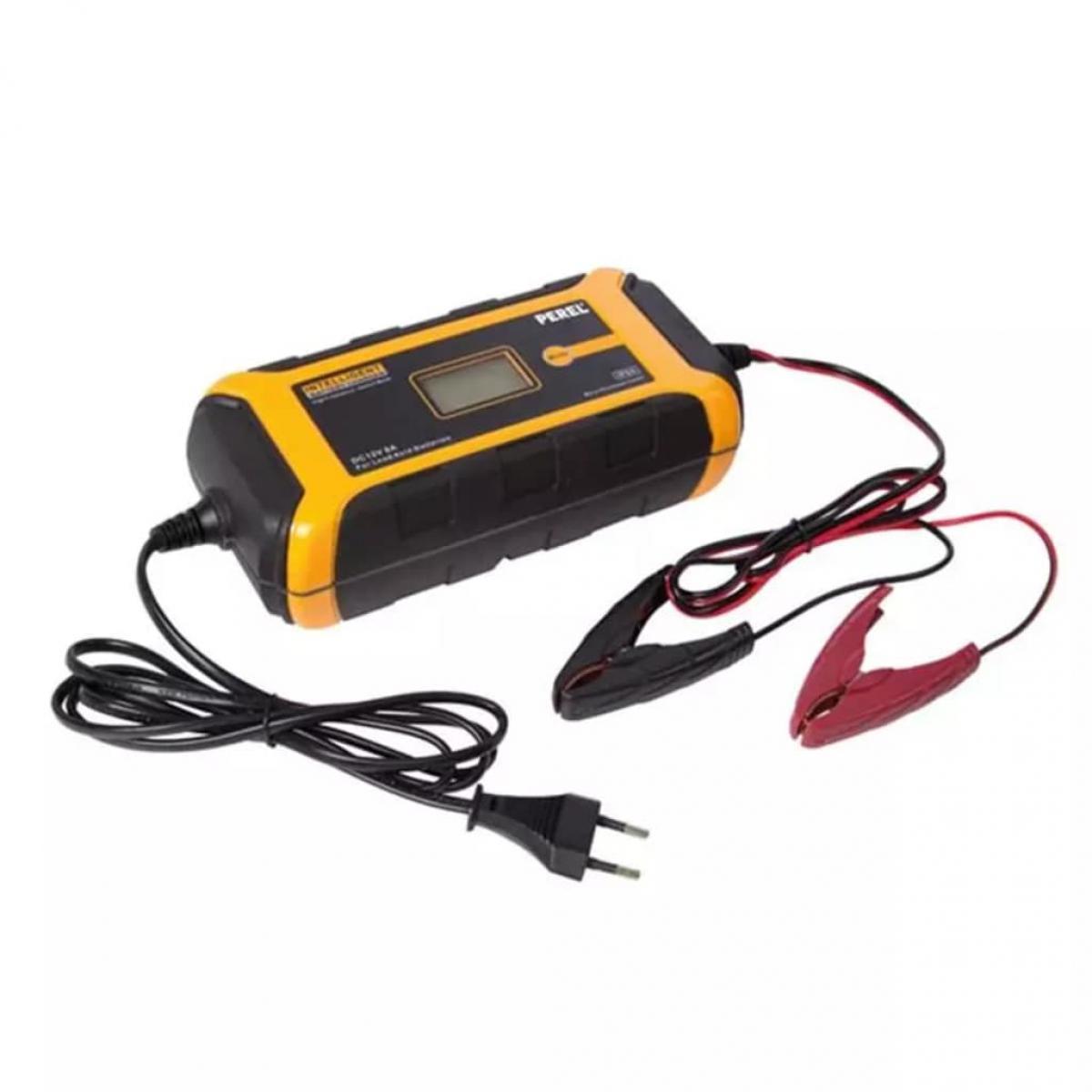 Perel Perel Chargeur Intelligent Pour Batterie à Acide De Plomb - 12 Vdc - 8 A