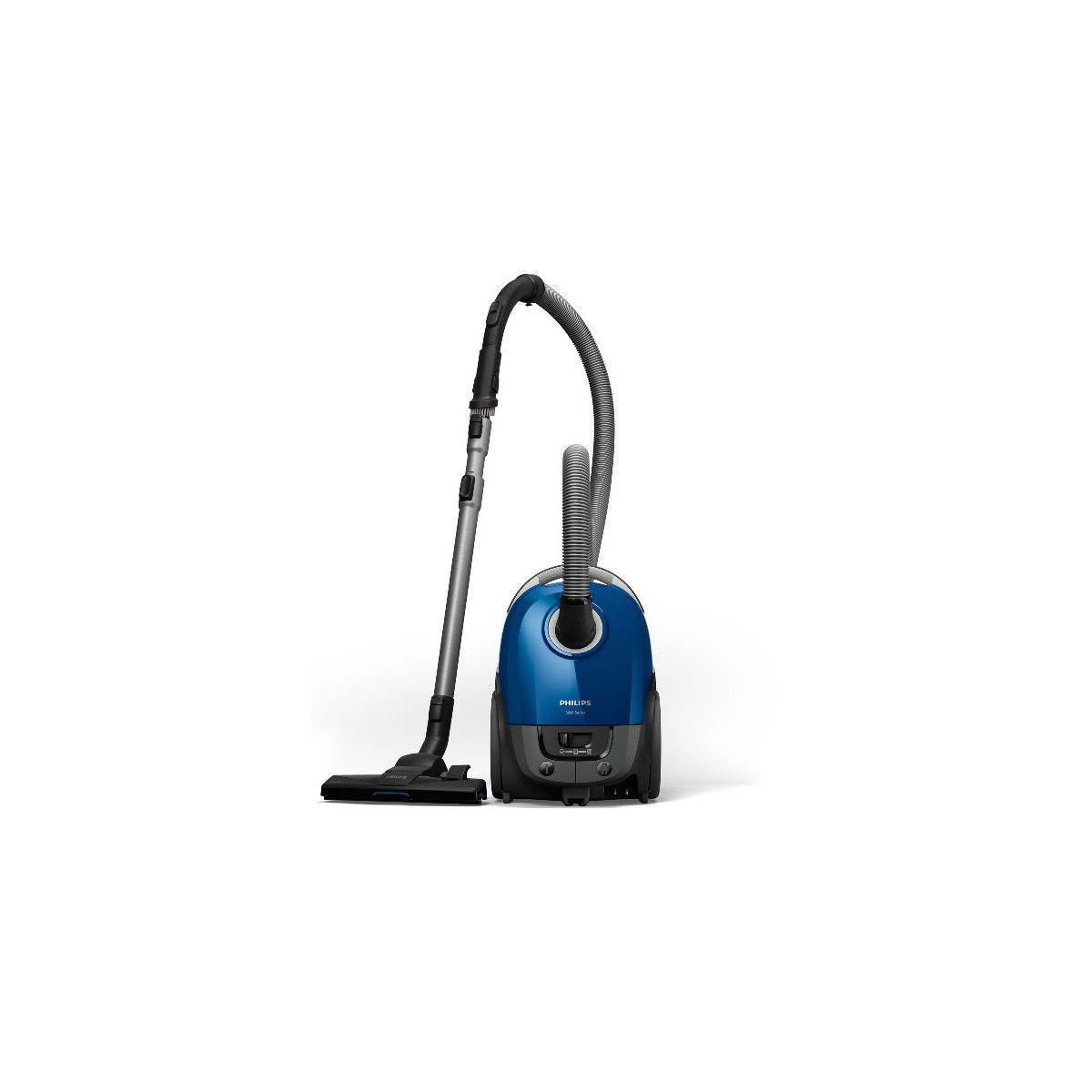 Philips Aspirateur Sac 900w Brosse Tri Active Bleu Philips - Xd3110.09