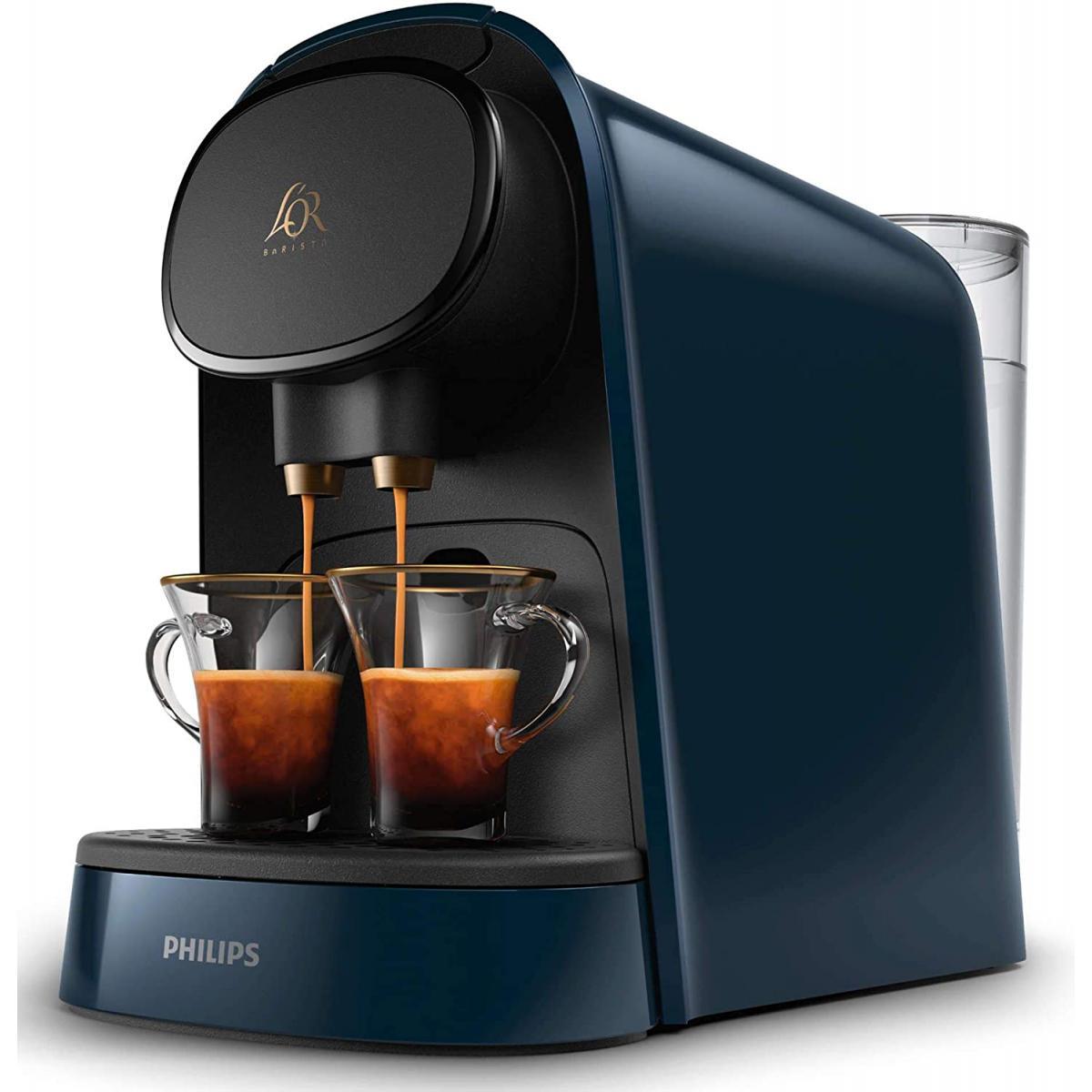 Philips cafetière électrique Express de 1L 1450W bleu noir