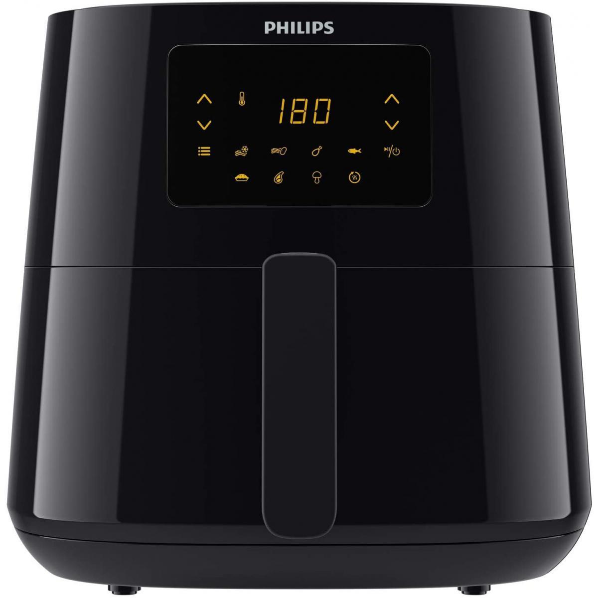 Philips friteuse électrique XL de 1,2KG 2000W noir