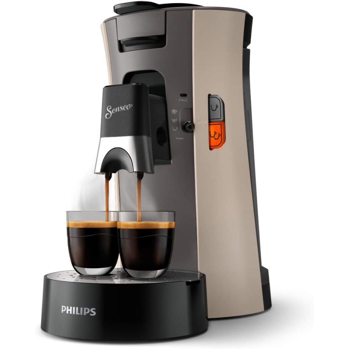Philips machine à café à dosettes 1450W beige