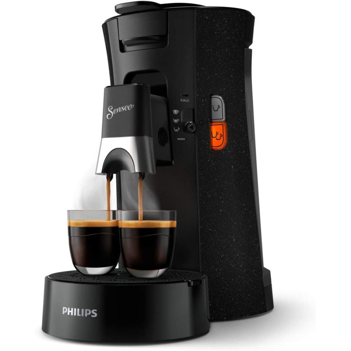 Philips machine à café à dosettes 1450W noir