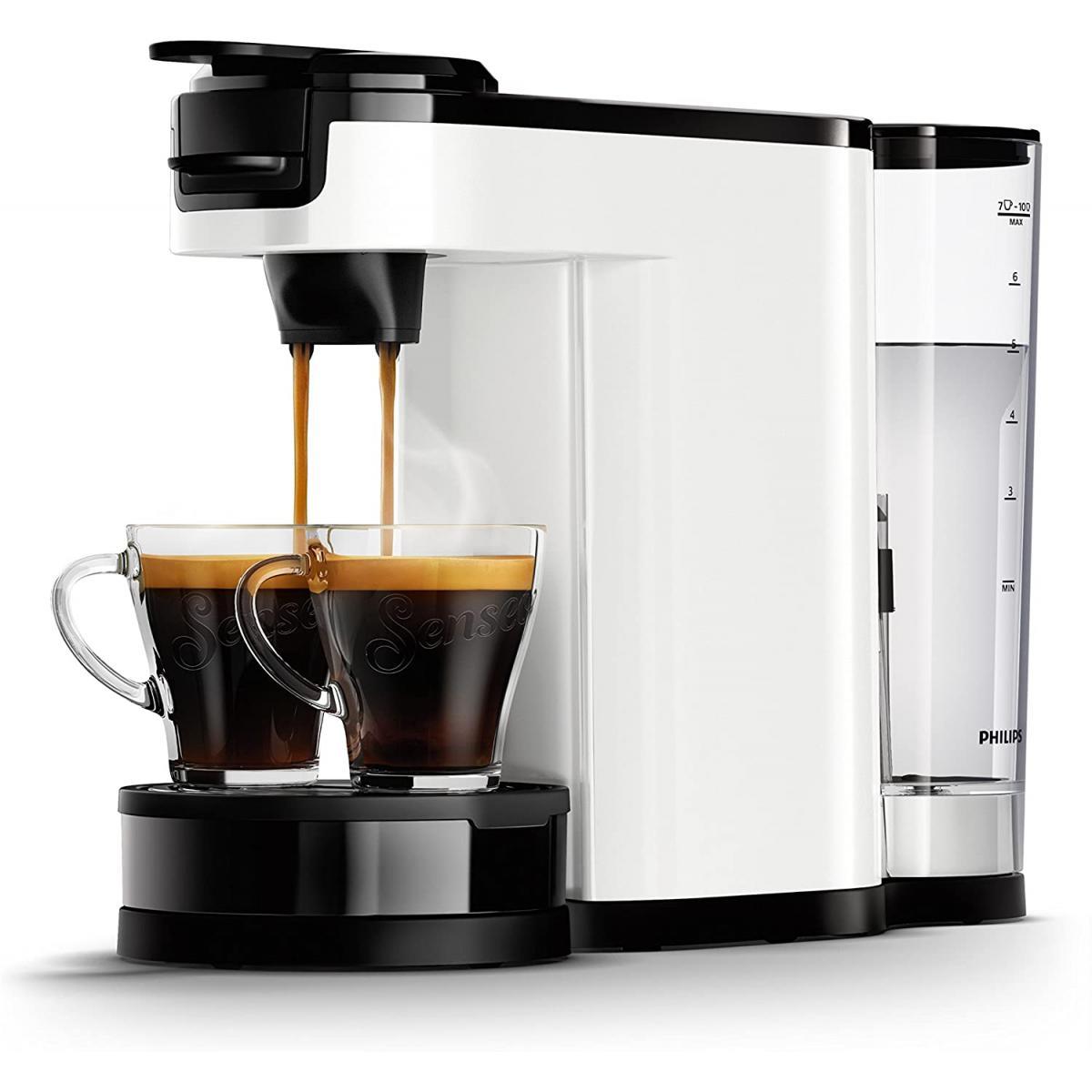 Philips machine à café SENSEO Switch 2 en 1 blanc noir