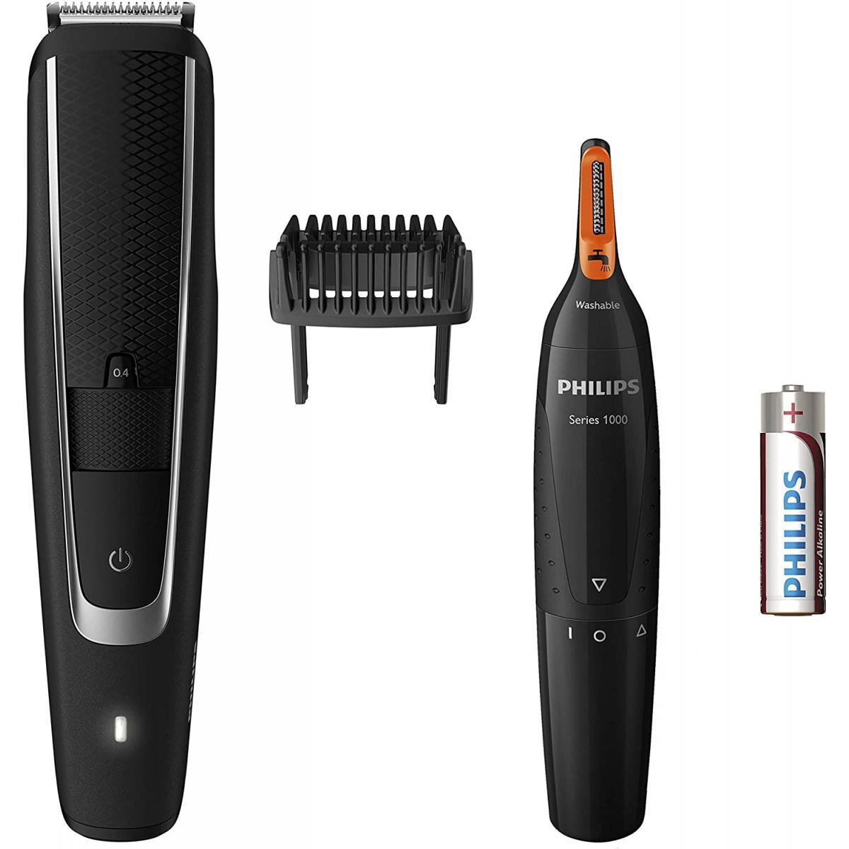 Philips tondeuse a barbe et Tondeuse Nez-Oreilles noir