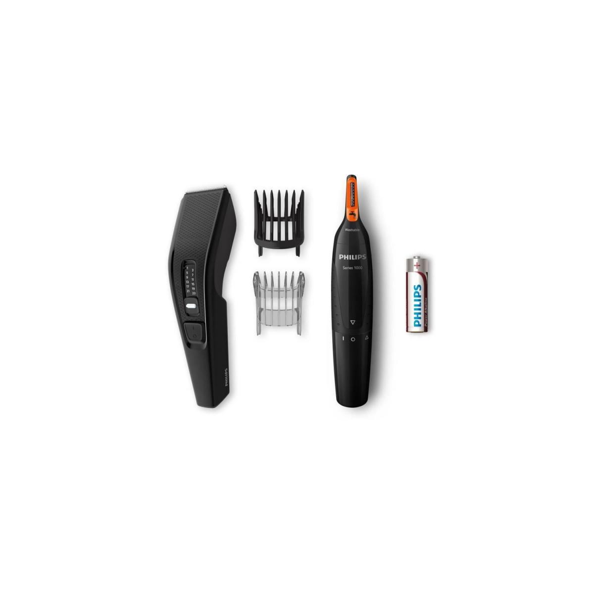 Philips PHILIPS HC3510/85 Tondeuse Cheveux et Barbes - 13 hauteurs de coupes + Tondeuse Nez-Oreilles