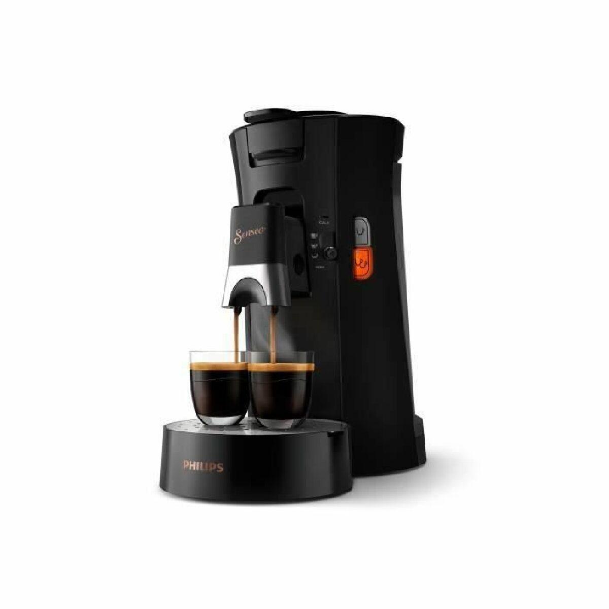 Philips PHILIPS Senseo Select CSA240/61 - Machine a café dosette - Noir