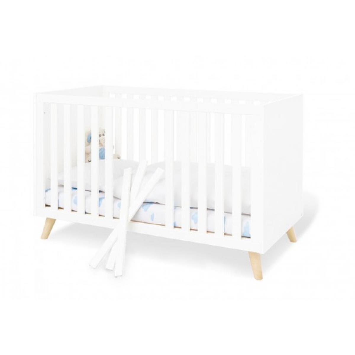 Pinolino Pinolino Ensemble Economique Move large 2 pièces lit de bébé évolutif commode à langer large