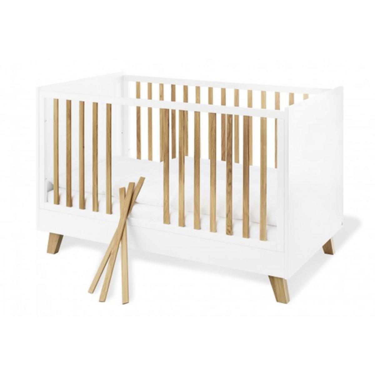Pinolino Pinolino Ensemble Economique Pan large 2 pièces lit de bébé évolutif commode à langer large