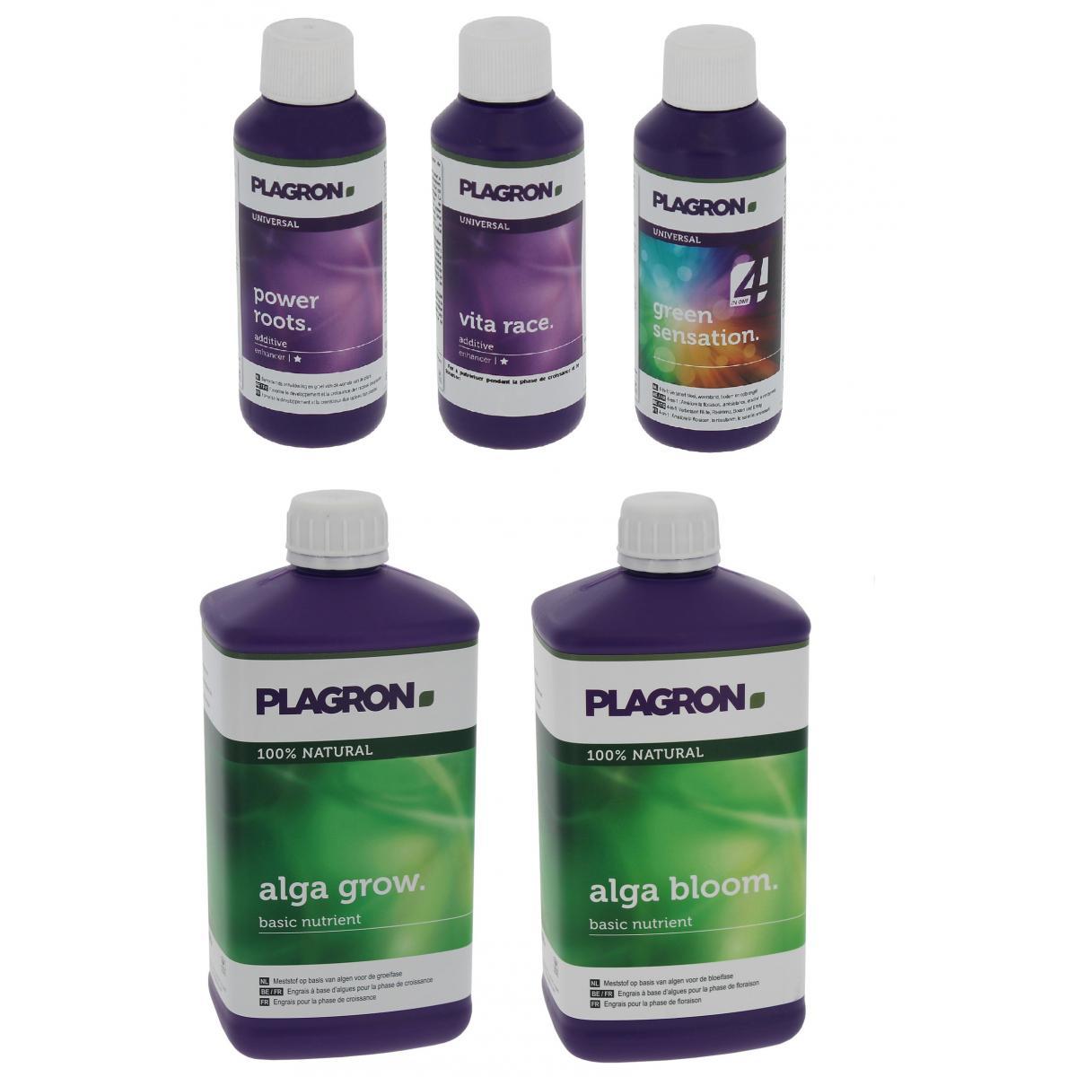Plagron Pack engrais Alga PLAGRON en litre + stimulants