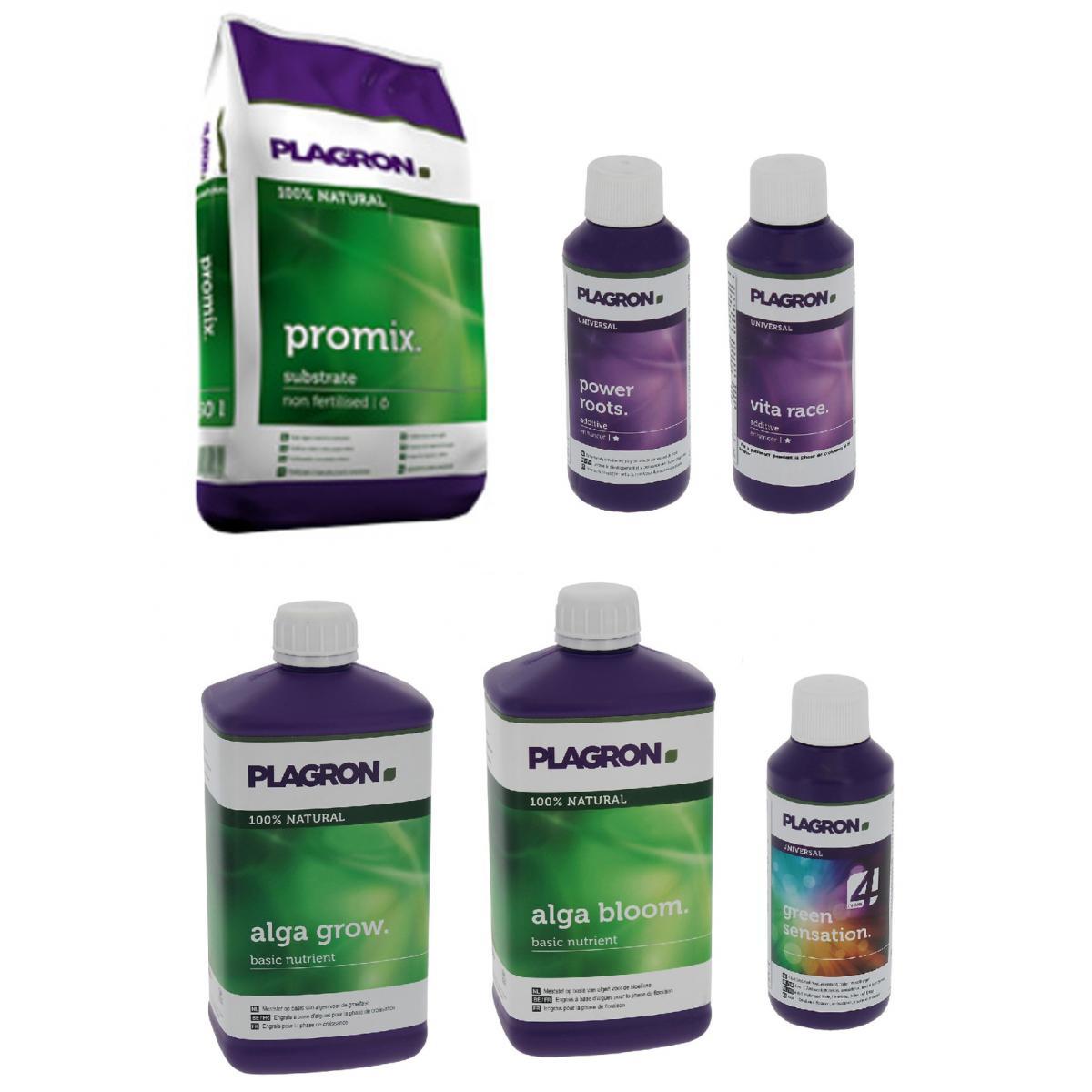 Plagron Pack Promix 50 litres PLAGRON + engrais et stimulants