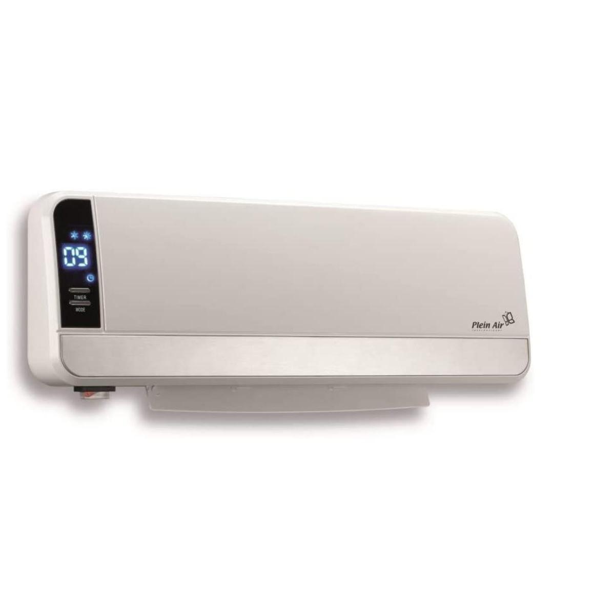 Plein Air Chauffage convecteur MURAL 2000W Ceramique Programmable Ecran Digital Télécommande PLEIN AIR