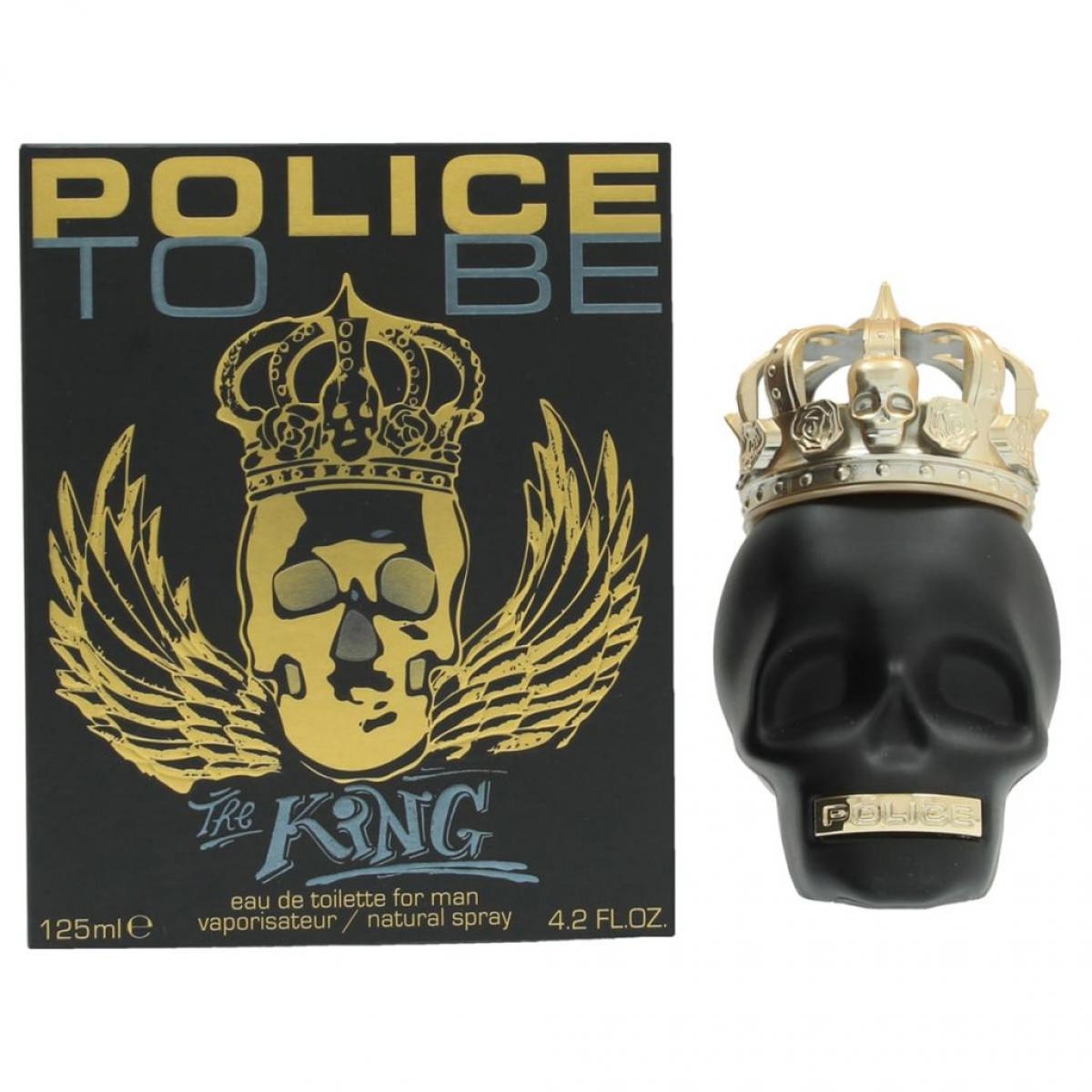 Police Police Eau de toilette To Be The King Hommes 125 ml