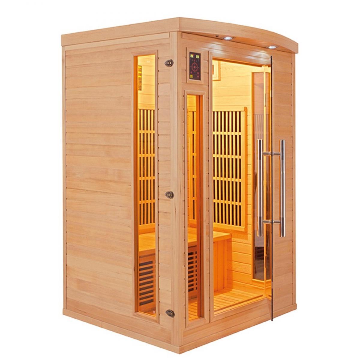Poolstar Sauna Apollon Infrarouge FRANCE SAUNA 2 places