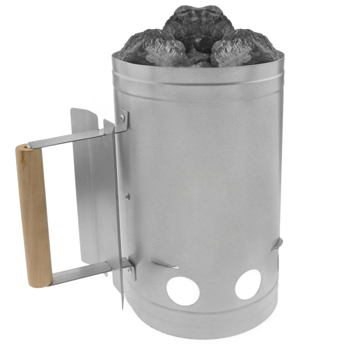 Primematik Cheminée d'allumage pour barbecue avec briquettes de charbon de bois BBQ
