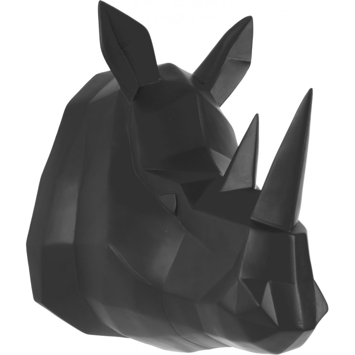 Pt Living Tête de rhinocéros à suspendre Origami
